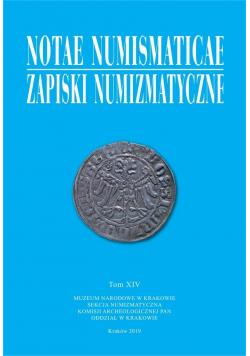 Notae Numismaticae. Zapiski Numizmatyczne T.14
