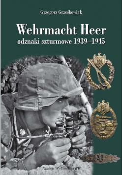 Wehrmacht Heer odznaki szturmowe 1939-1945