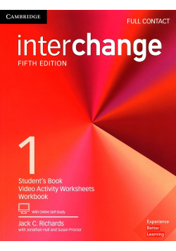 Interchange 1 Full Contact Student's Book with Online Self-Study