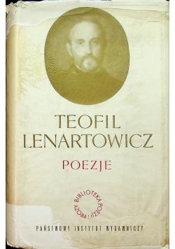 Teofil Lenartowicz poezje
