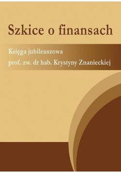 Szkice o finansach