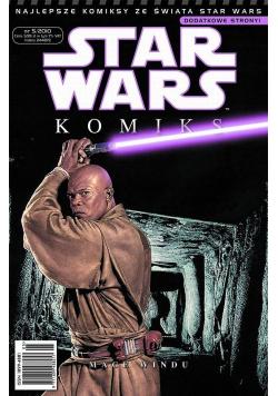 Star wars komiks Mace Windu 5 / 2010