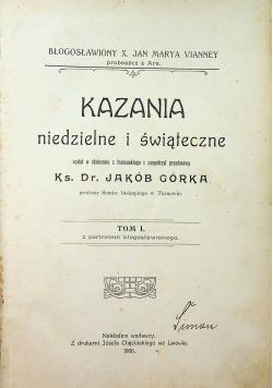 Kazania niedzielne i świąteczne 1906 r.