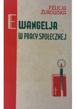 Ewangelja w pracy społecznej 1936 r.