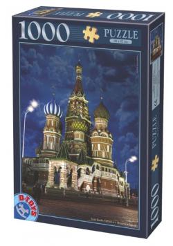 Puzzle 1000 Rosja, Moskwa-Bazylika