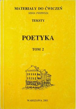 Materiały do ćwiczeń Poetyka Tom 2