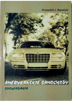 Amerykańskie samochody opowiadania