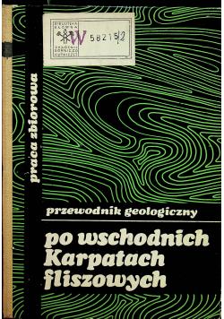 Po wschodnich Karpatach fliszowych plus mapy