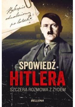 Spowiedź Hitlera (z autografem)