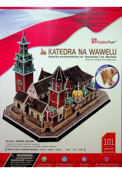Puzzle 3D Katedra na Wawelu NOWA