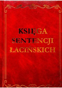 Księga sentencji łacińskich