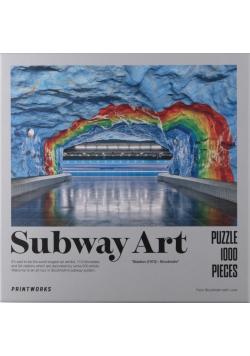 Puzzle 1000 Subway Art - Rainbow