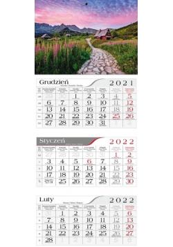 Kalendarz 2022 Trójdzielny Hala gąsienicowa CRUX