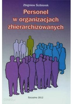 Personel w organizacjach zhierarchizowanych