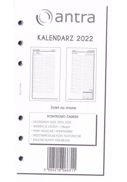 Kalendarz 2022 wkład B6 ST/DNS