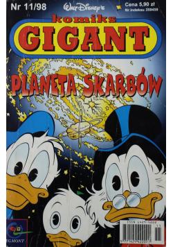 Komiks Gigant Planeta Skarbów