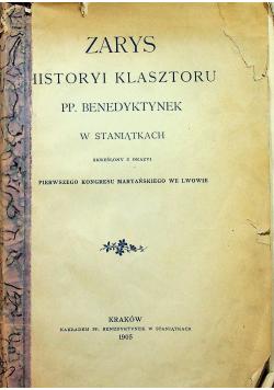 Zarys Historyi Klasztoru PP Benedyktynek 1905r