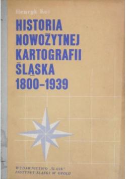 Historia nowożytnej kartografii Śląska 1800-1939