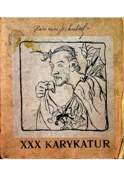XXX karykatur około 1900 r.