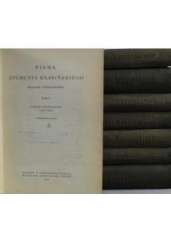 Pisma Zygmunta Krasińskiego 8 tomów 1912 r.