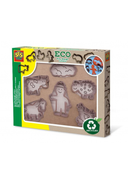 ECO play dough cutters