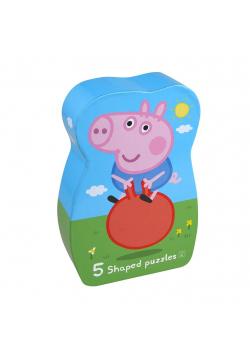 Puzzle dla dzieci George 5 układanek 24 el.