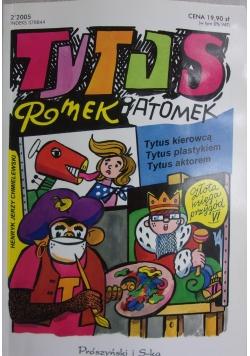 Tytus kierowcą Tytus plastikiem Tytus aktorem