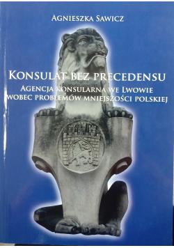 Konsulat Bez Precedensu autograf Sawicz