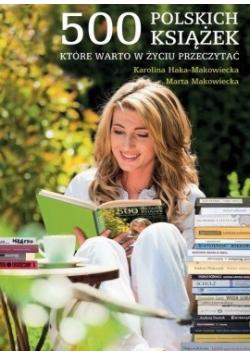 500 polskich książek które warto przeczytać NOWA