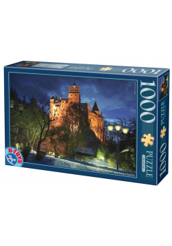 Puzzle 1000 Rumunia, Zamek Bran nocą