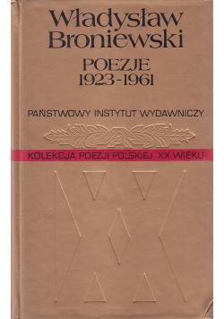 Poezje 1923 1961