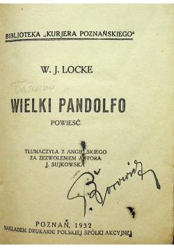 Wielki Pandolfo 1932r