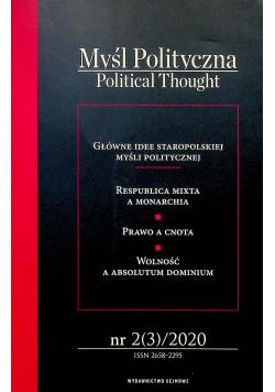 Myśl polityczna 2