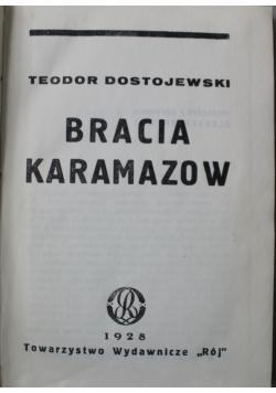 Dzieła Bracia Karamazow  1928 r