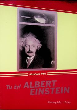 Tu żył Albert Einstein