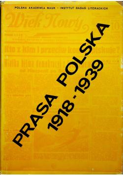 Prasa Polska 1918 - 1939