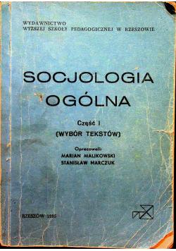 Socjologia ogólna część 1