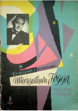 10 piosenek z repertuaru Mieczysława Fogga