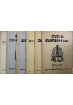 Życie słowiańskie miesięcznik Zestaw 10 numerów