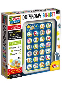 Dotykowy alfabet Montessori