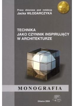Technika jako czynnik inspirujący w architekturze