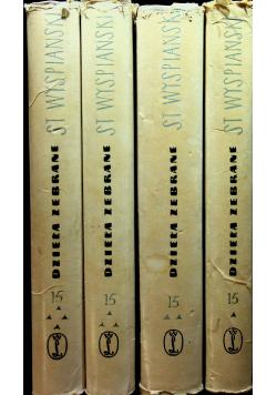 Wyspiański dzieła zebrane 4 tomy