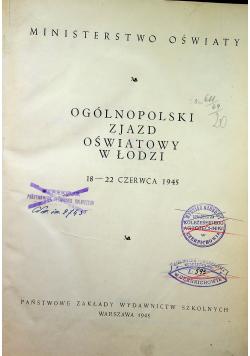 Ogólnopolski zjazd oświatowy w Łodzi