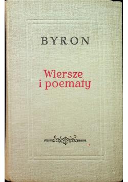 Byron Wiersze i poematy