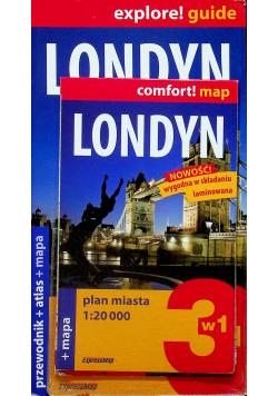 Explore guide Londyn plus mapa