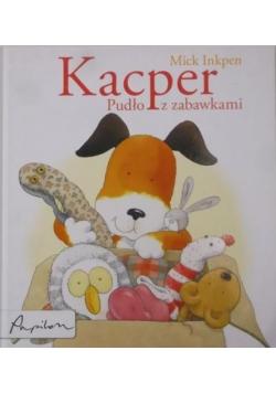 Kacper Pudło z zabawkami