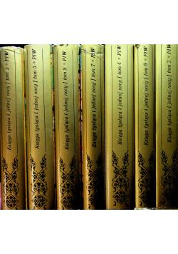 Księga tysiąca i jednej nocy 7 tomów