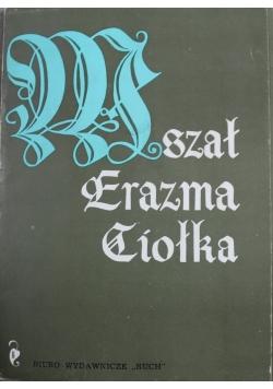 Mszał Erazma Ciołka