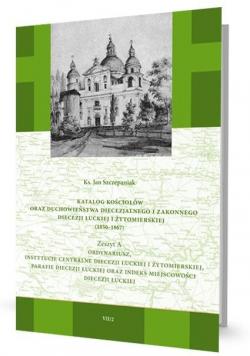 Katalog kościołów oraz duchowieństwa... Zeszyt A