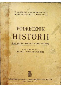 Podręcznik historii dla VIII klasy szkoły podstawowej, 1948 r.